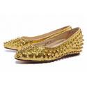 Christian-louboutin-gold-spikes-women-s-flat-shoes-gold-001-01