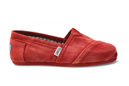 Denim-red-womens-stone-washed-twill-toms-shoes