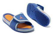 Latest-quality-shoes-girls-jordan-hydro-2-slide-royal-blue-bright-citrus-fashion-style-shoes