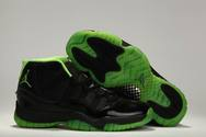Air-jordans-11-xi-black-green-2013-fashion-style-shoes