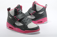 Fashion-quality-shoes-nike-air-jordan-flight-45-07-001-gs-grey-pink-girls-basketball-shoes
