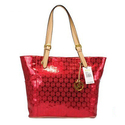 Michael-kors-jet-set-mirror-metallic-large-red-tote-bags-327