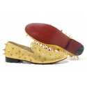 Christian-louboutin-rollerboy-golden-spikes-womens-flat-shoes-001-01