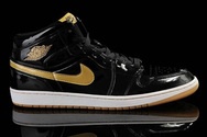 Air-jordan-1-black-metallic-gold-fashion-style-shoes