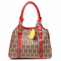 Michael-kors-bedford-tote-khaki-red