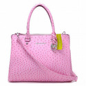 Michael-kors-bedford-ostrich-tote-pink