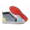 Christian-louboutin-louis-tartan-womens-sneakers-green-yellow-001-01