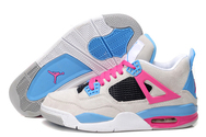 Air-jordan-4-south-beach-custom-shoe