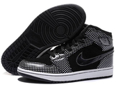 Brands-quality-guarantee-store-air-jordan-1-retro-high-polka-dot-black-white