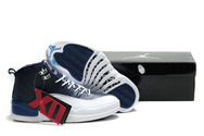 Newest-air-jordan-12-retro-obsidian-fashion-style-shoes