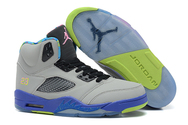 Original-cheap-trainers-women-air-jordan-5-05-001-retro-gs-bel-air-cool-grey-court-purple-game-royal-club-pink