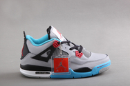 Sporting-pictureshoes-popular-new-shoes-air-jordan-iv-05-001-mens-shoes-grey-black-blue