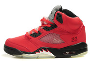 Fashion-sneaker-online-store-women-jordan-5-red-black-grey-003-02
