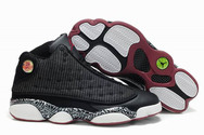 Wholesale-free-ship-air-jordan-13-022-print-black-white-022-01