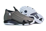 Popular-shoes-online-womenjordanshoes-women-jordan-14-leather-grey-black-white-001-01