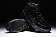 Fashion-new-brand-nike-air-jordan-12-shoes-6001-01-ovo-all-black-drake-free-shipping