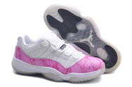 Discount-nike-women-j11-jordan-shoes-004-01-low-pink-snakeskin-white-black-top-seller