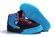 Latest-brand-sneakers-women-nike-air-yeezy-2-03-001-black-blue-solar-red-women-size-shoes