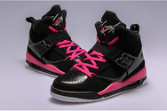 Athletic-shoes-nike-air-jordan-flight-45-02-001-high-gs-black-vivid-pink