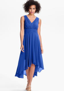 High-low-royal-blue-v-neck-ruched-chiffon-bridesmaid-dresses13782615651_large