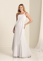 White-one-shoulder-empire-waist-floor-length-chiffon-bridesmaid-dresses-for-pregnant-woman-by1134913784532840