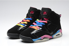 Sporting-pictureshoes-popular-new-shoes-women-air-jordan-retro-vi-01-001-gs-rainbow-blackpink-flash-marina-blue_large