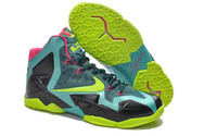 Discount-lebron-11-athletic-shoes-043-01-green-blue-black-pink-nike-brand