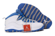 Quality-guarantee-store-air-jordan-x-white-blue-grey