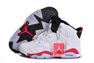 New-sneakers-online-air-jordan-6-05-001-women-leather-white-infrared-black