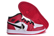 Free-shipping-quality-air-jordan-1-01-001-women-white-black-red