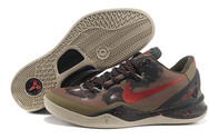 Best-quality-factory-stock-new-design-sneakers-bryant-24-nike-kobe-viii-8-026-01-system-python-squadron-green-challenge-red-legion-brown