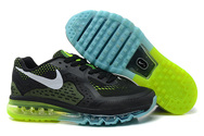 Mens-nike-air-max-2014-black-green-blue-fashion-style-shoes