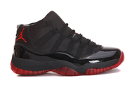 New-brand-shoes-air-jordan-11-retro-black-red-custom