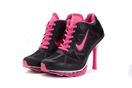 Quality-guarantee-shoes-womens-nike-air-max-2011-01-001-high-heels-anthracite-silver-spark-pink