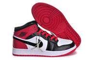 Free-shipping-quality-air-jordan-1-02-001-women-white-black-varsity-red