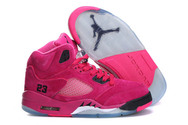 Top-selling-nike-womens-air-jordan-5-0508001-01-pink-black-suede-quality-guarantee