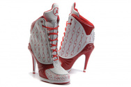 Good-shoes-collection-women-air-jordan-23-high-heels-red-white-high-quality