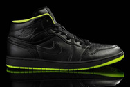 Latest-quality-shoes-air-jordan-1-black-neon-green-fashion-style-shoes