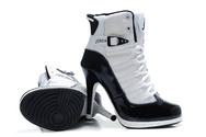 Good-shoes-collection-air-jordan-11-heel-boots-black-white-high-quality