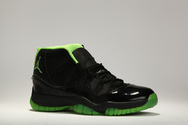 Air-jordan-xi-black-neon-green-collection-shoe