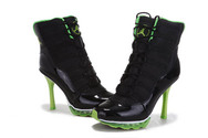 Good-shoes-collection-lady-air-jordan-11-high-heels-2013-black-green-high-quality