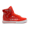 Cheap-new-sneaker-supra-skytop-002-02-red-white-snowflake-womens-shoes