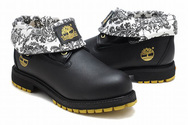 Timberland-outlet-mens-timberland-roll-top-boot-black-white-gold-001-02