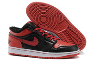 1st-basketball-sneaker-air-jordan-1-021-retro-low-black-fur-winter-shoes-leather-black-red-021-01