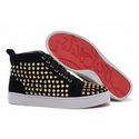 Christian-louboutin-louis-gold-flat-spikes-men-sneakers-black-001-01
