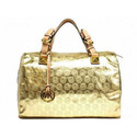 Michael-kors-grayson-large-jet-set-monogram-satchel-gold