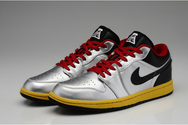 Sporting-pictureshoes-athletic-shoes-air-jordan-1-09-001-low-metallic-silver-black-challenge-red-tour-yellow