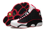 Sporting-pictureshoes-low-cost-sneaker-jordan-13-011-01-retro-black-white-firered