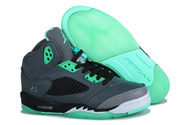 Authentic-and-fast-ship-brand-new-shoes-nike-air-jordan-5-011-001-green-glow-black-grey-men-shoes