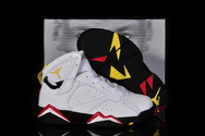 Greatnbagame-jordans-66size-free-delivery-air-jordan-7-03-001-kids-cardinals-white-black-cardinal-red-bronze